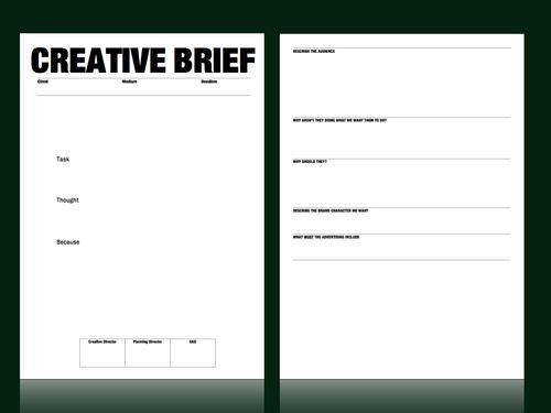 Creative Brief Template images साठी प्रतिमा परिणाम